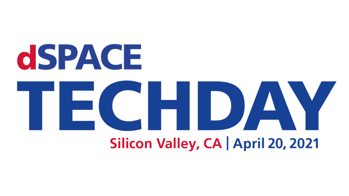 Virtual Event: dSPACE Tech Day Silicon Valley